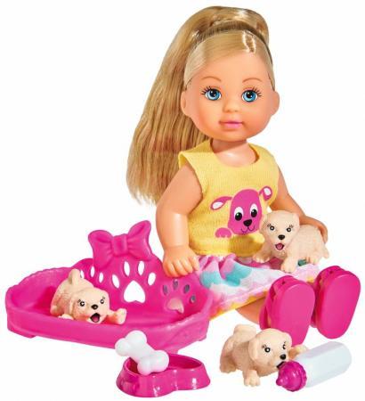 Кукла SIMBA Еви с собачками 12 см цена