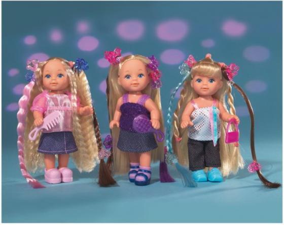 Кукла SIMBA Еви супер-волосы 12 см погремушки simba букашка прорезыватель