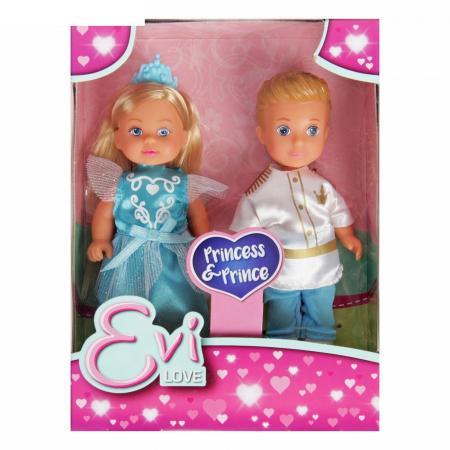 Набор кукол SIMBA Куклы Тимми и Еви - принц и принцесса 12 см