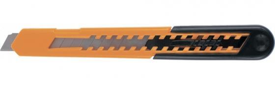 Нож SPARTA 78906 9мм выдвижное лезвие пластиковый усиленный корпус