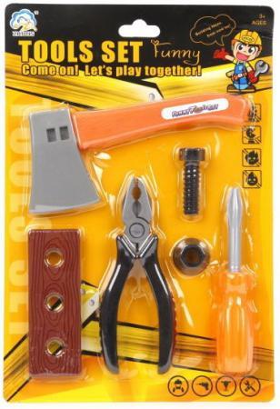 Набор инструментов Наша Игрушка 928-1 6 предметов В ассортименте