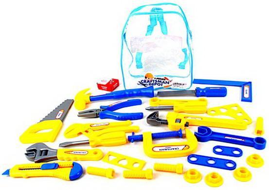 Купить Набор инструментов Наша Игрушка 27 предметов, Игровые наборы Юный мастер