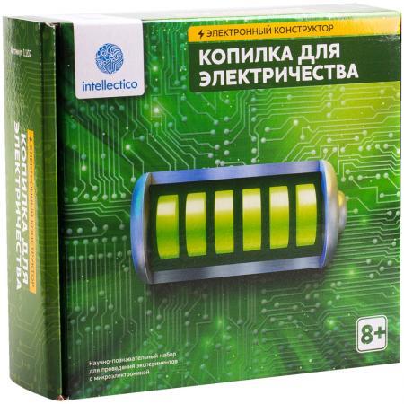 Электронный конструктор INTELLECTICO Копилка для электричества
