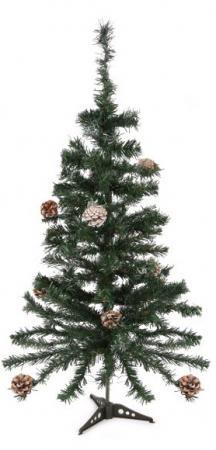Ель Новогодняя сказка 973322 90 см с шишками