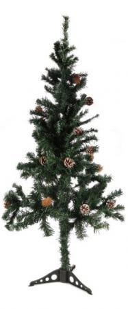 Ель Новогодняя сказка 973323 120 см с шишками ель новогодняя crystal trees 1 2 м триумфальная с шишками kp8612