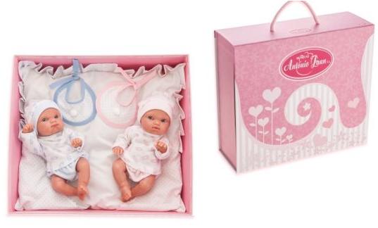 Кукла-младенец Munecas Antonio Juan Куклы-двойняшки Пепито и Лолита 21 см no te va gustar san juan