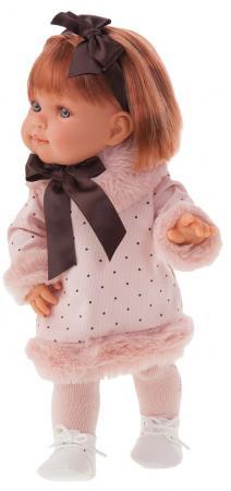 Кукла Munecas Antonio Juan Констанция 38 см кукла munecas antonio juan белла в шляпке блондинка 45 см 2808p