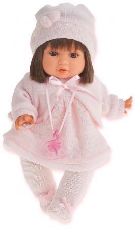Кукла Munecas Antonio Juan Кристи 30 см плачущая кукла munecas antonio juan соня в ярко розовом 37 см плачущая 1443v