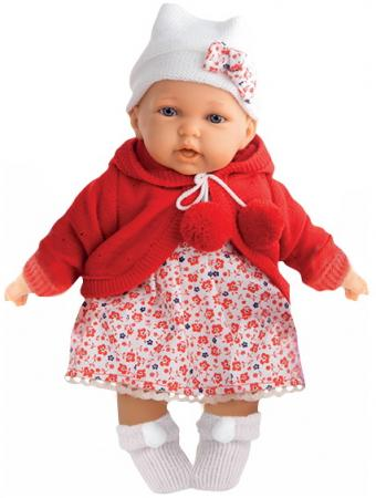 Кукла Азалия в красном, озвуч., 27 см кукла munecas antonio juan белла в шляпке блондинка 45 см 2808p