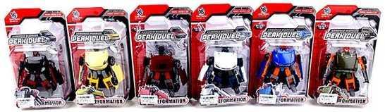 Робот-трансформер Наша Игрушка Трансформер Робот-машина H6612-A