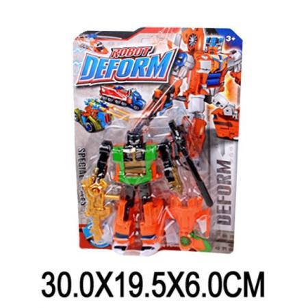 Робот-трансформер Наша Игрушка Робот-бронетранспортёр 30 см