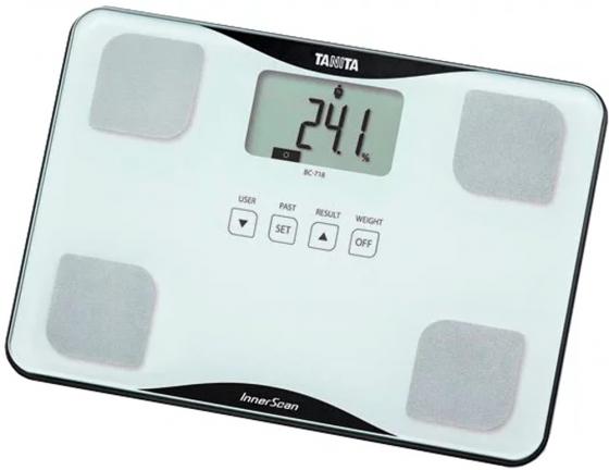Весы напольные Tanita BC-718 белый весы напольные tanita bc 545n