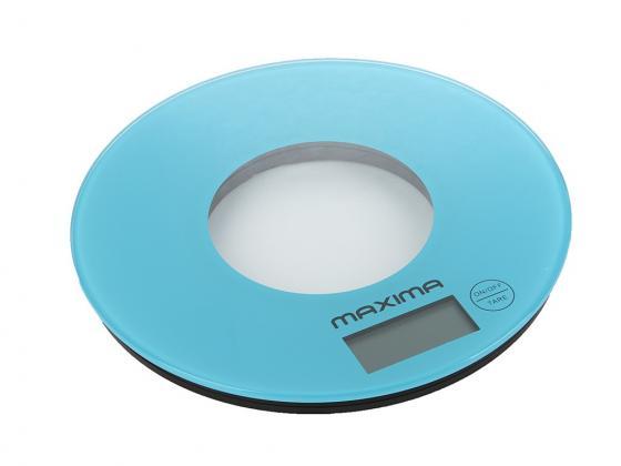 Весы кухонные Maxima MS-067 (Голубой) maxima ms 017