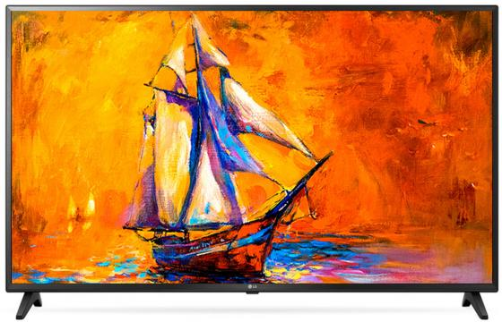 Телевизор 49 LG 49UK6200PLA черный 3840x2160 50 Гц Wi-Fi Smart TV RJ-45 телевизор led 65 lg oled65e7v черный белый 3840x2160 120 гц wi fi smart tv rj 45 bluetooth widi