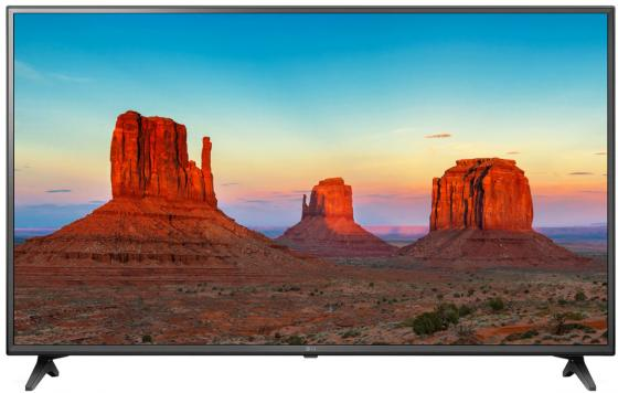 Телевизор 60 LG 60UK6200PLA черный коричневый 3840x2160 50 Гц Wi-Fi RJ-45 Bluetooth