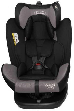 Автокресло BabySafe Golden (grey) автокресло concord concord автокресло transformer t 2016 graphite grey