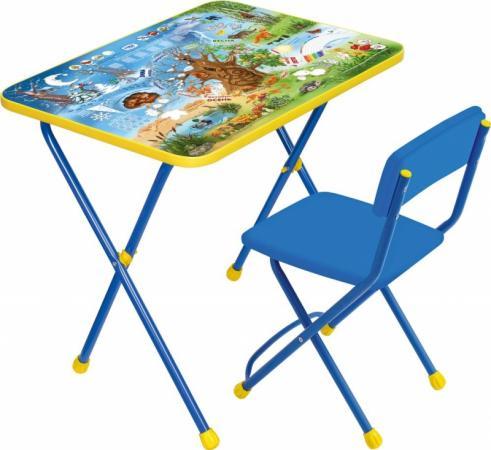Комплект стол+стул Ника Познайка 2 Хочу все знать наборы детской мебели ника познайка кп2 хочу все знать
