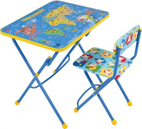 цена на Комплект стол+стул Ника Умничка 1 Познаю мир