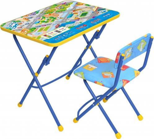Комплект стол+стул Ника Умничка 1 Правила дорожного движения ника 1041 0 1 61 ника