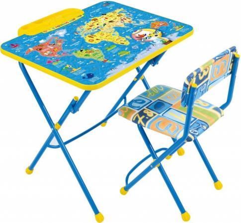 Комплект стол+стул Ника Умничка 2 Познаю мир ника 0438 2 9 51