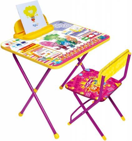 Комплект стол+стул Ника Фиксики 1 Знайка стол складной ника водостойкий пластик 100x50 cм