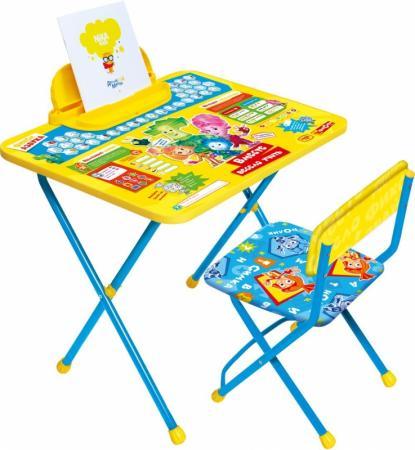 Комплект стол+стул Ника Фиксики 1 Азбука ника ледянка фиксики зеленые