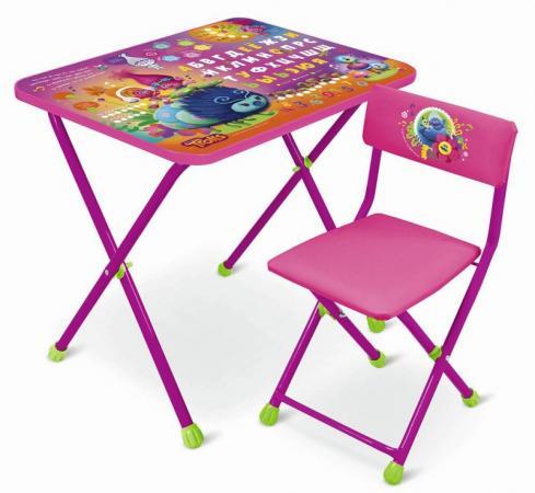 Комплект стол+стул Ника Trolls Тролли недорго, оригинальная цена