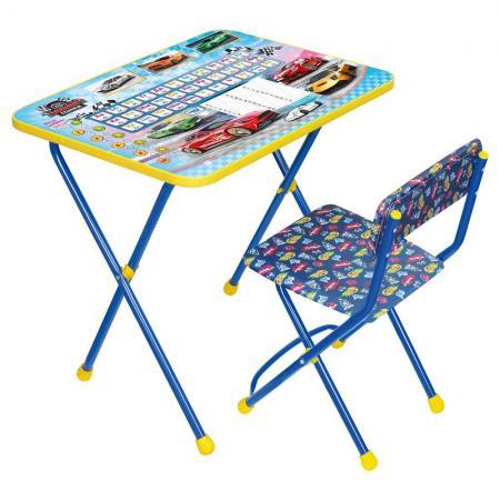 Комплект стол+стул Ника Познайка Познайка наборы детской мебели ника познайка кп2 хочу все знать