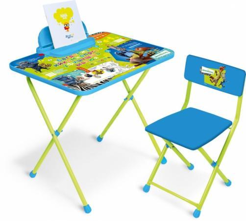 Комплект стол+стул Ника Disney 2 Зверополис стол складной ника водостойкий пластик 100x50 cм