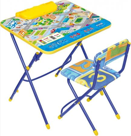 Комплект стол+стул Ника Умничка 3 Правила дорожного движения цена