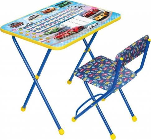 Комплект стол+стул Ника Умничка 2П Большие гонки набор мебели nika умничка стол стул большие гонки кну1 0283ку1 15