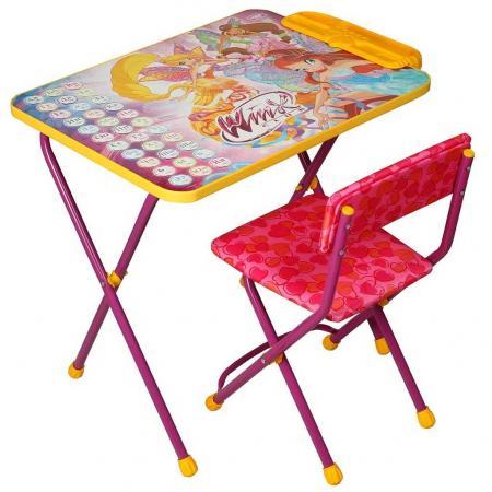 Комплект стол+стул Ника Winx 3 Азбука стол складной ника водостойкий пластик 100x50 cм