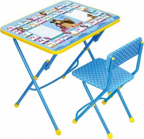 Комплект стол+стул Ника Умничка 1 Азбука 2 Маша и Медведь ника 0438 2 9 51
