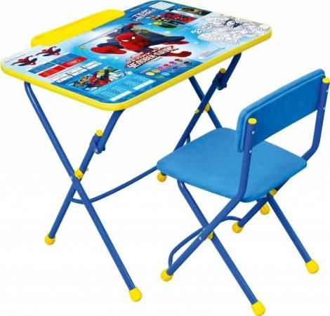 Комплект стол+стул Ника Disney 3 Человек-паук наклейки объемные disney человек паук 00553