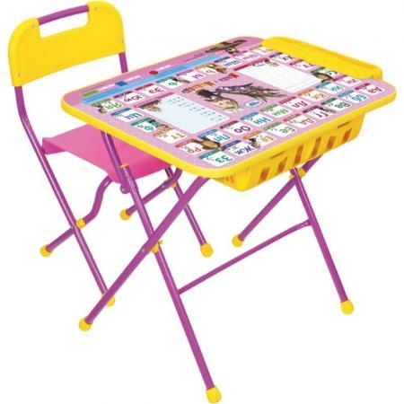 Комплект стол+стул Ника Азбука 3 Маша и Медведь игра nika маша и медведь азбука 3 кпу1 3
