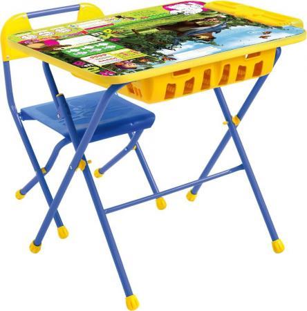 Комплект стол+стул Ника Ловись рыбка Маша и Медведь цена