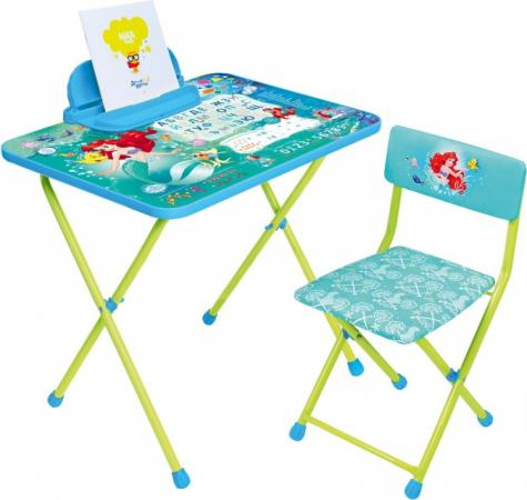 Комплект стол+стул Ника Disney 4 Русалочка ника складной стол са1 алина ника бук