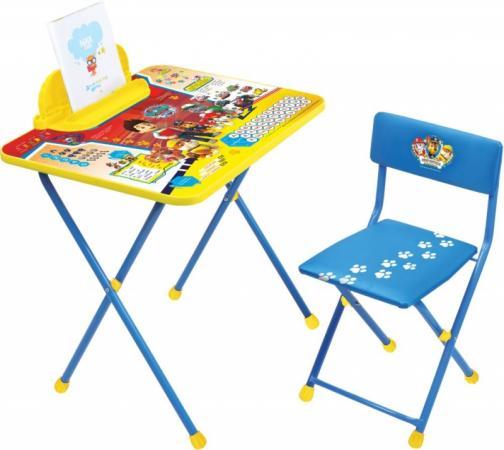 Комплект стол+стул Ника Nickelodeon Щенячий патруль стол складной ника водостойкий пластик 100x50 cм