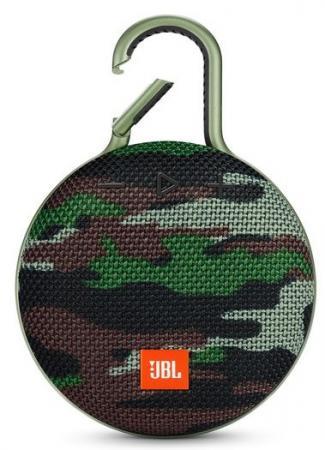 все цены на Динамик JBL Портативная акустическая система JBL CLIP 3, камуфляж