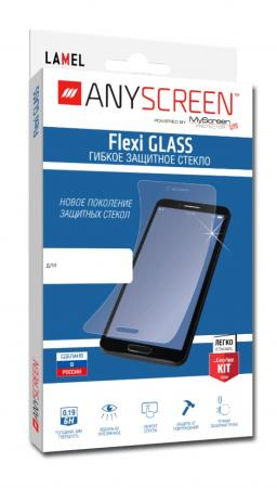 Пленка защитная lamel гибкое стекло Flexi GLASS для Sony Xperia E5, ANYSCREEN защитная пленка anyscreen для sony xperia z5 суперпрозрачная