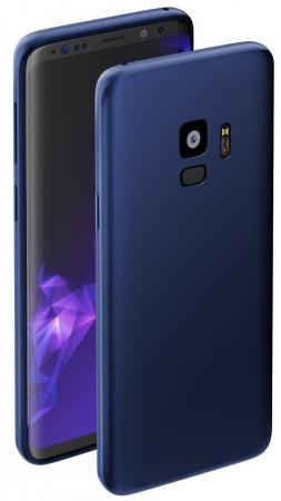 Чехол Deppa Чехол Case Silk для Samsung Galaxy S9, синий металлик, Deppa