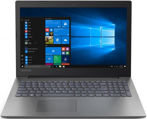 Ноутбук Lenovo IdeaPad 330-15IKB Core i3 7100U/4Gb/500Gb/nVidia GeForce Mx110 2Gb/15.6/TN/HD (1366x768)/Windows 10/black/WiFi/BT/Cam
