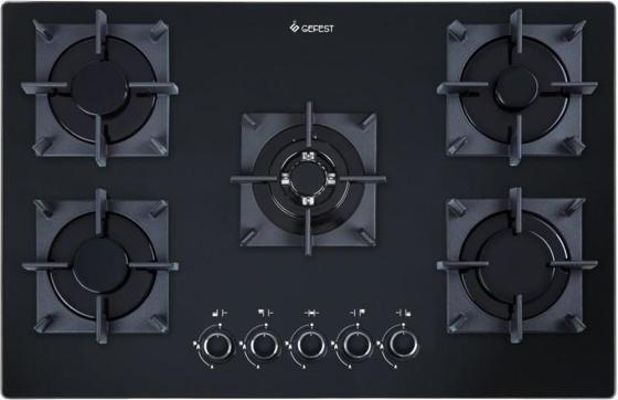 Варочная панель газовая Gefest СН 2340 К33 черный цена и фото