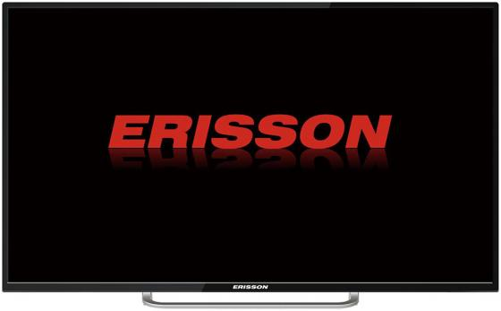 Телевизор LED 55 Erisson 55 ULES 50T2SM серебристый 3840x2160 50 Гц Wi-Fi Smart TV USB HDMI Разьем для наушников SCART VGA телевизор 50 philips 50pus6503 60 черный 3840x2160 60 гц wi fi smart tv rj 45 разьем для наушников