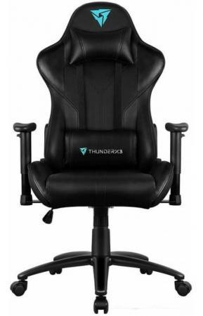 Кресло компьютерное ThunderX3 RC3 -B [black], с подсветкой 7 цветов dxracer oh ea01 nr компьютерное кресло black red