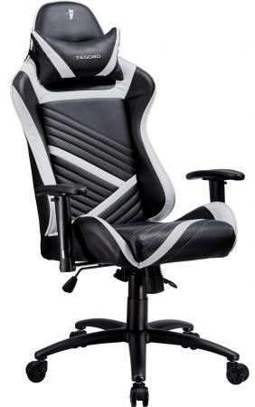 Кресло компьютерное TESORO Zone Speed F700 BW [black-white] dxracer oh ea01 nr компьютерное кресло black red