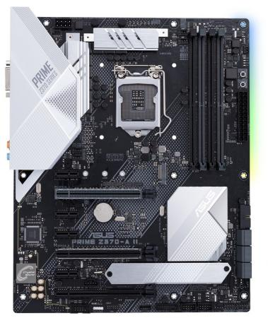 Материнская плата ASUS PRIME Z370-A II Socket 1151 v2 Z370 4xDDR4 3xPCI-E 16x 4xPCI-E 1x 6 ATX Retail 90MB0ZT0-M0EAY0 asus b150m a d3 1151 pin b150 motherboard ddr3