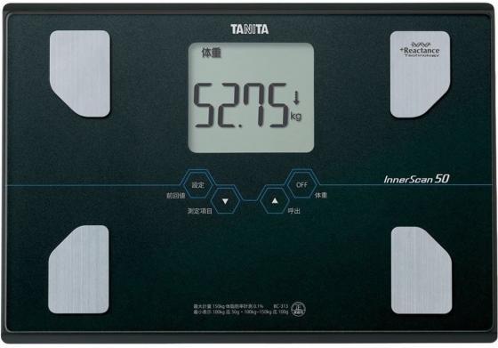Весы напольные Tanita BC-313 чёрный цена и фото