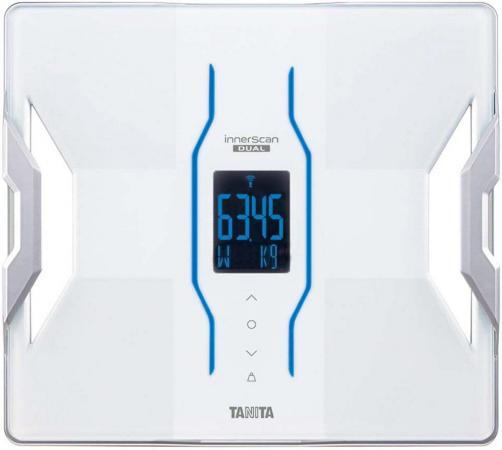 Весы напольные Tanita RD-953 белый алкотестер tanita hc 207