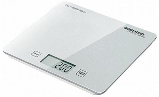 Весы кухонные Redmond RS-724-E белый весы кухонные redmond rs 724 зеленый